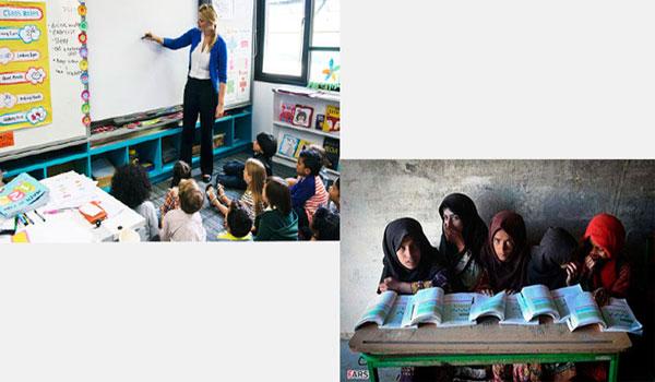 مقایسه مدارس آمریکا با ایران