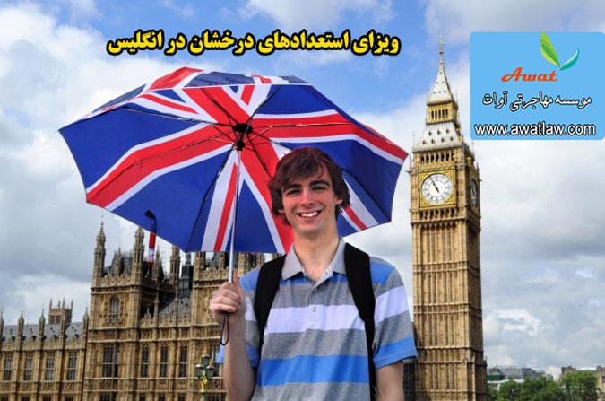 ویزای استعدادهای درخشان در انگلیس