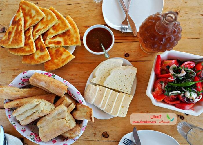 صبحانه گرجستان