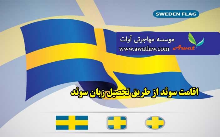 اقامت سوئد از طریق تحصیل زبان سوئد