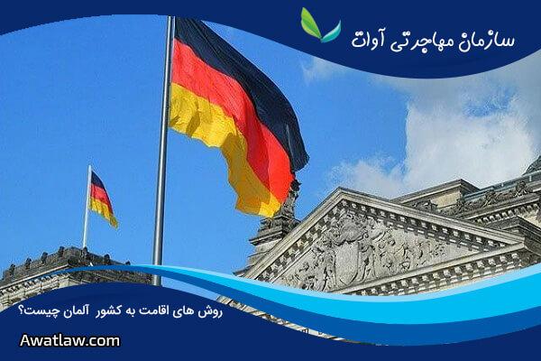روش های اقامت به کشور آلمان چیست؟