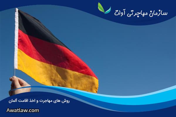 روش های اخذ اقامت آلمان