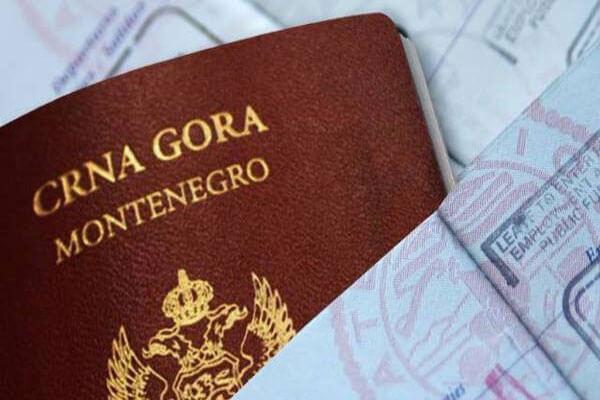 اخذ پاسپورت مونته نگرو